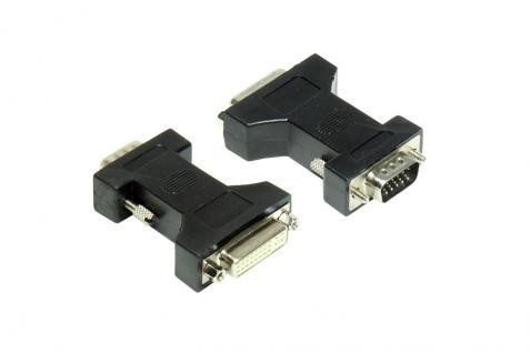 kabelmeister® Adapter DVI-I Buchse an VGA-Stecker