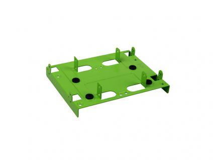 Festplatten-Einbaurahmen, 5.25' BayExtension green, Sharkoon®
