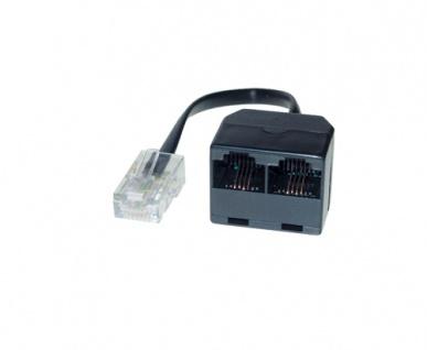 ISDN 2-fach Verteiler ohne Endwiderstand, 0, 15m