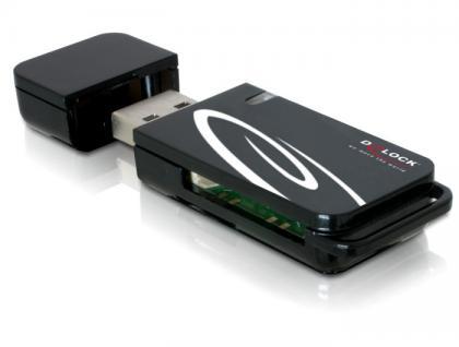 USB 2.0 Card Reader 18 in 1, Delock® [91667]