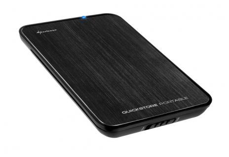 Sharkoon® Quickstore portable USB 3.0 2, 5' black
