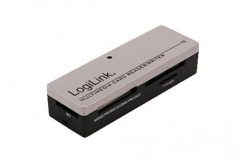 LogiLink® Externer Mini All-in-1 Cardreader USB 2.0 [CR0010]