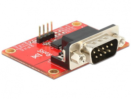 Adapter Raspberry Pi Pin Header an Seriell RS-232, Delock® [65628]