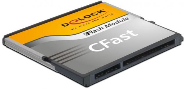 Speicherkarte CFast-Card SATA 6 Gb/s WT 16GB MLC -40° C ~ +85° C, Delock® [54700]