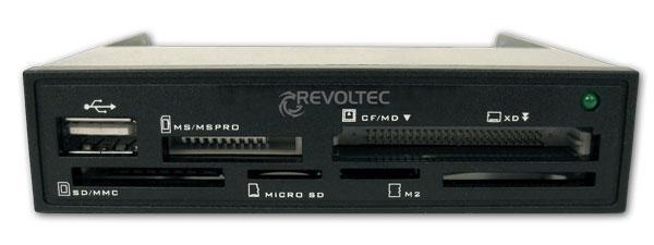 Revoltec® Procyon 1.5 3, 5' internal Cardreader (BULK Version)