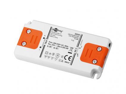 LED Transformator 0-6 Watt, DC-Betrieb