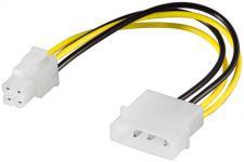 kabelmeister® Stromadapter 4-Pin 5, 25' auf 4-Pin P4-Mainboard