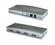 Print Server, Ethernet 1Giga-LAN zu 4 x USB 2.0 Port, Exsys® [EX-6004]