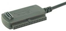 LogiLink® Adapter USB 2.0 to 2, 5 + 3, 5 Zoll IDE + SATA HDD [AU0006C]