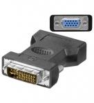 Adapter VGA-Buchse an DVI 24+5 Stecker, Good Connections®