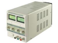Labornetzgerät stabilisiert, regelbar von 0-3 Ampere mit LCD Display