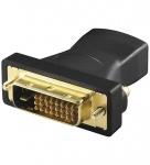 Adapter HDMI 19pol Buchse an DVI Stecker, vergoldet, Good Connections®
