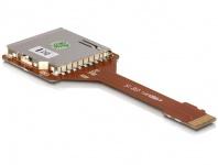 Cardreader-Adapter, Micro SD/Trans Flash an SD Karte, Delock® [61680]