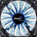 AeroCool® Shark Fan Blue Edition , 140mm x 140mm x 25mm, schwarz/blau [EN55468]