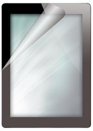 Displayschutzfolie für das iPad 2, matt
