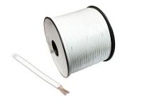 Lautsprecherkabel Basic, 2x 1, 5mm², Innenleiter CCA. weiß, 100m Spule, Good Connections®