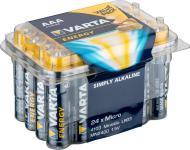 Varta® Batterie, (4103) Energy (Alkaline), LR03 (AAA), Micro, 1, 5V, 24er Box