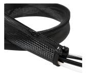 Flexibler Kabelschutz mit Reißverschluss, 0, 03 x 0, 02 x 1m