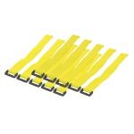 Kabelbinder mit Klettverschluss, gelb, LogiLink® [KAB0015]
