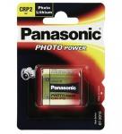 Panasonic® Batterie Lithium Photo für z.B. Kamera´s, CR P 2; 1er Blister