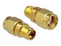 Adapter RP-SMA Stecker an SMA Buchse, Delock® [88728]