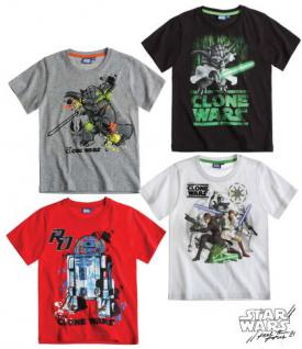Star Wars-The Clone Wars Doppelpack T-Shirt immer 2 Farben Top.