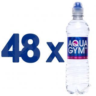 AQUAGYM Coffein Wasser 48 x 0, 5 Liter