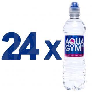AQUAGYM Coffein Wasser 24 x 0, 5 Liter