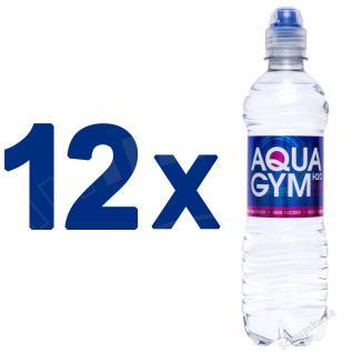 AQUAGYM Coffein Wasser 12 x 0, 5 Liter