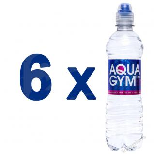 AQUAGYM Coffein Wasser 6 x 0, 5 Liter