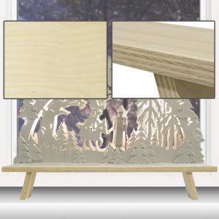 Schwibbogen Erhöhung Lichterbogen Fensterbank Schwibbogenbank 60 cm - Vorschau 2
