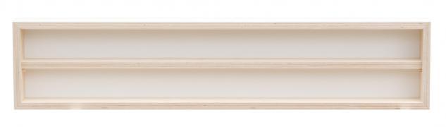 Pihami Sammler - Vitrine 2HE Spur H0 & N Märklin Regal 110 cm Birke natur - Vorschau 2