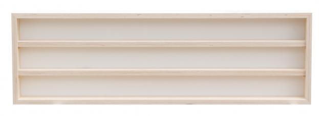 Pihami Sammler - Vitrine 3HE Spur H0 & N Märklin Regal 150 cm Birke natur - Vorschau 2