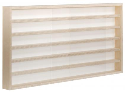 pihami sammler vitrine 6he spur h0 n m rklin regal 150 cm birke natur kaufen bei pihami. Black Bedroom Furniture Sets. Home Design Ideas