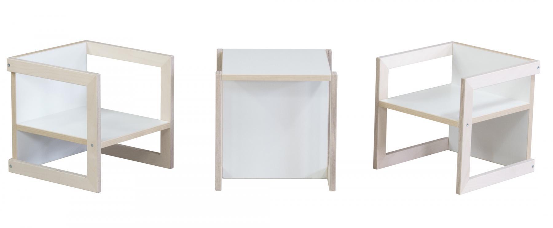 kindersitzgruppe kinderm bel stuhl michel 3 teilig birke wei in 3 sitzh hen kaufen bei pihami. Black Bedroom Furniture Sets. Home Design Ideas