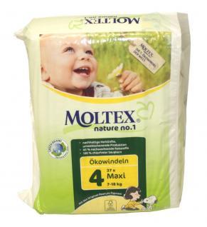 37 St. Gr.4 MAXI MOLTEX Nature No1 Ökowindeln Babywindeln Gr 4 = 7-18 kg Windeln - Vorschau