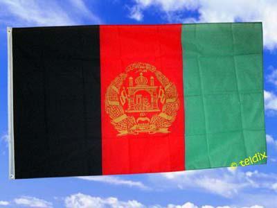 Fahne Flagge AFGHANISTAN 150 x 90 cm