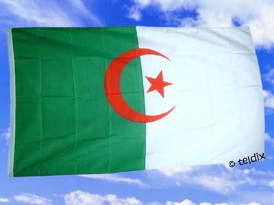 Fahne Flagge ALGERIEN 150 x 90 cm
