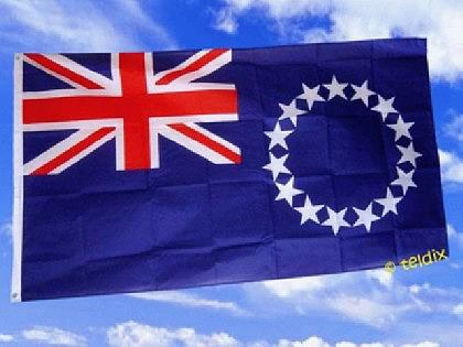 Fahne Flagge COOK ISLANDS 150 x 90 cm