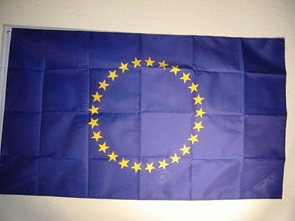 Fahne Flagge EUROPA 27 STERNE 150 x 90 cm