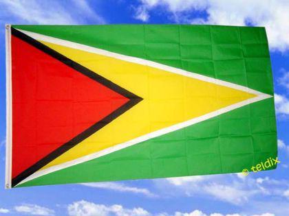 Fahne Flagge GUYANA 150 x 90 cm