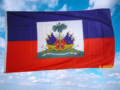 Fahne Flagge HAITI 150 x 90 cm