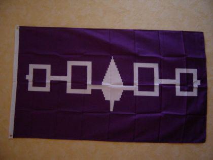 Fahne Flagge IROQUESE 150 x 90 cm