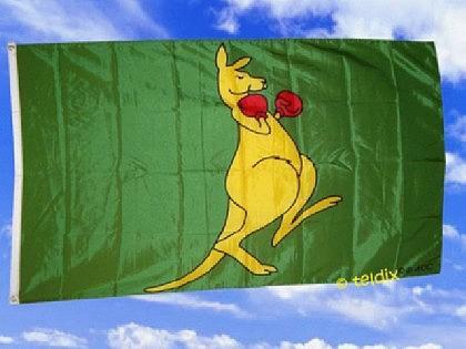 Fahne Flagge KÄNGURUH 150 x 90 cm
