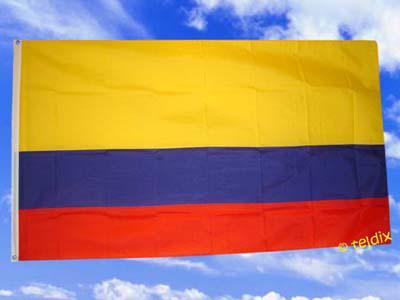 Fahne Flagge KOLUMBIEN 150 x 90 cm