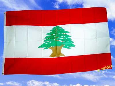 Fahne Flagge LIBANON 150 x 90 cm