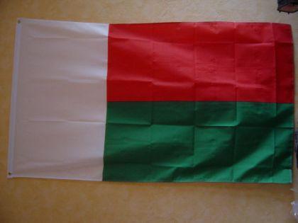 Fahne Flagge MADAGASKAR 150 x 90 cm