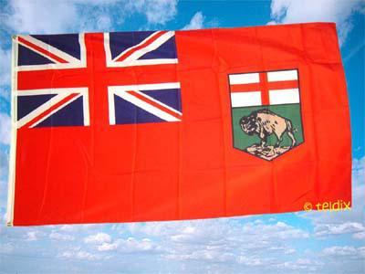 Fahne Flagge MANITOBA 150 x 90 cm