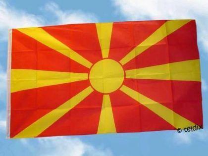 Fahne Flagge MAZEDONIEN NEU 150 x 90 cm