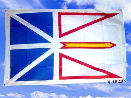 Fahne Flagge NEUFUNDLAND 150 x 90 cm
